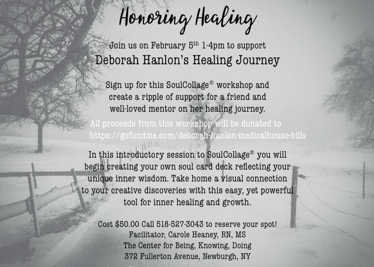 In the Spirit of Healing - Honoring Healing for Deborah Halon