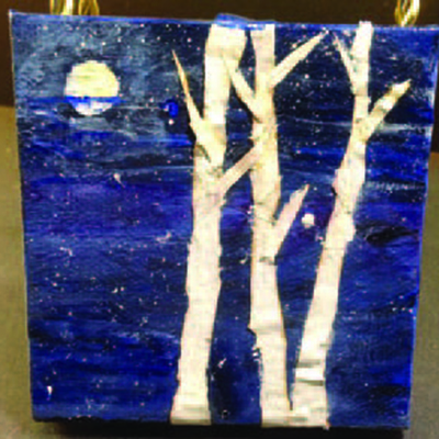 In the Spirit of Healing - Sit Sip & Create NY Birch Trees
